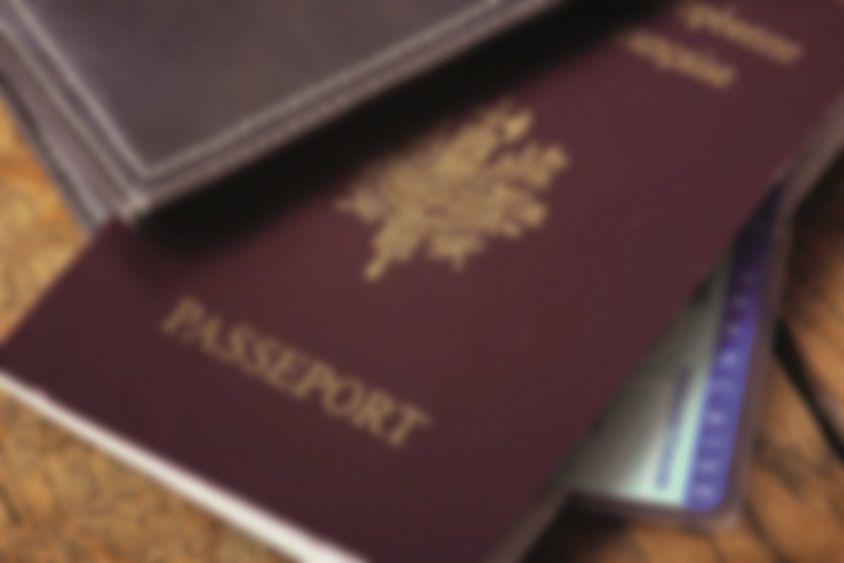 Photos d'identité pour passeport