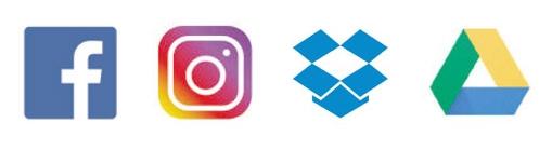 Impression photos depuis les réseaux sociaux