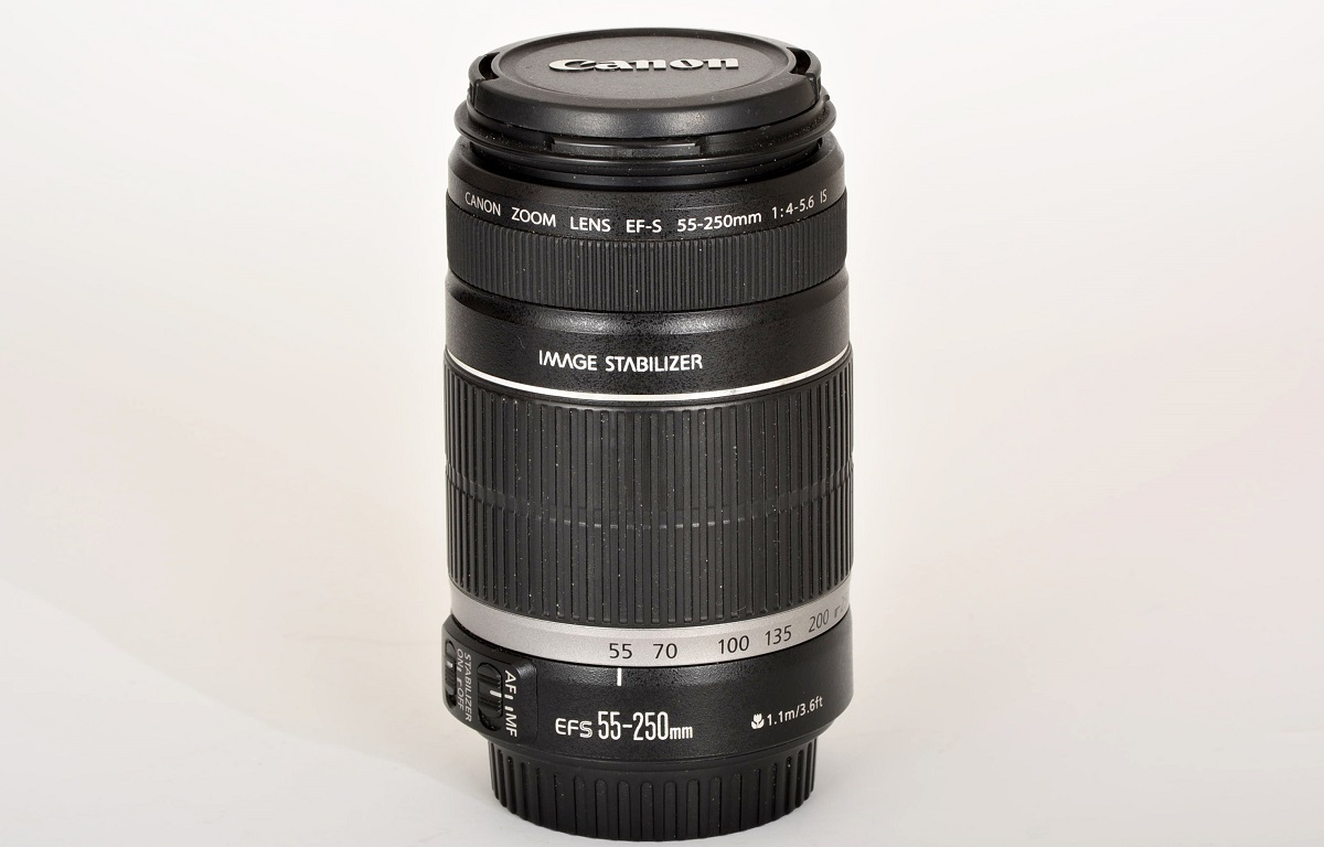 Objectif CANON EFS 55-250mm f/4-5.6 IS